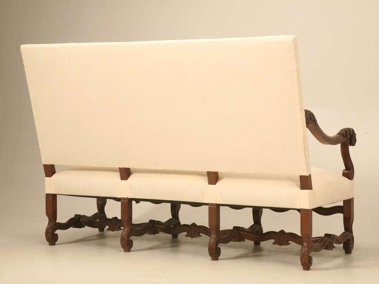 Circa 1890 French Walnut Louis XIV Sofa 10