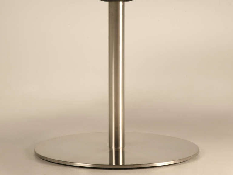 Custom 60quot Stainless Steel Dining Table at 1stdibs : opc104608l from 1stdibs.com size 768 x 576 jpeg 13kB