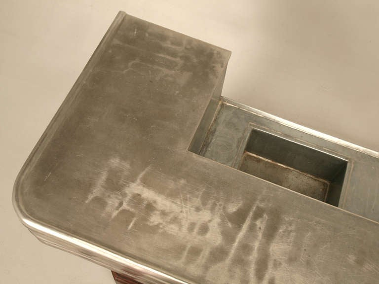 French Zinc Bar at 1stdibs