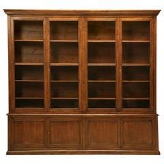 Antique French Grande Bookcase