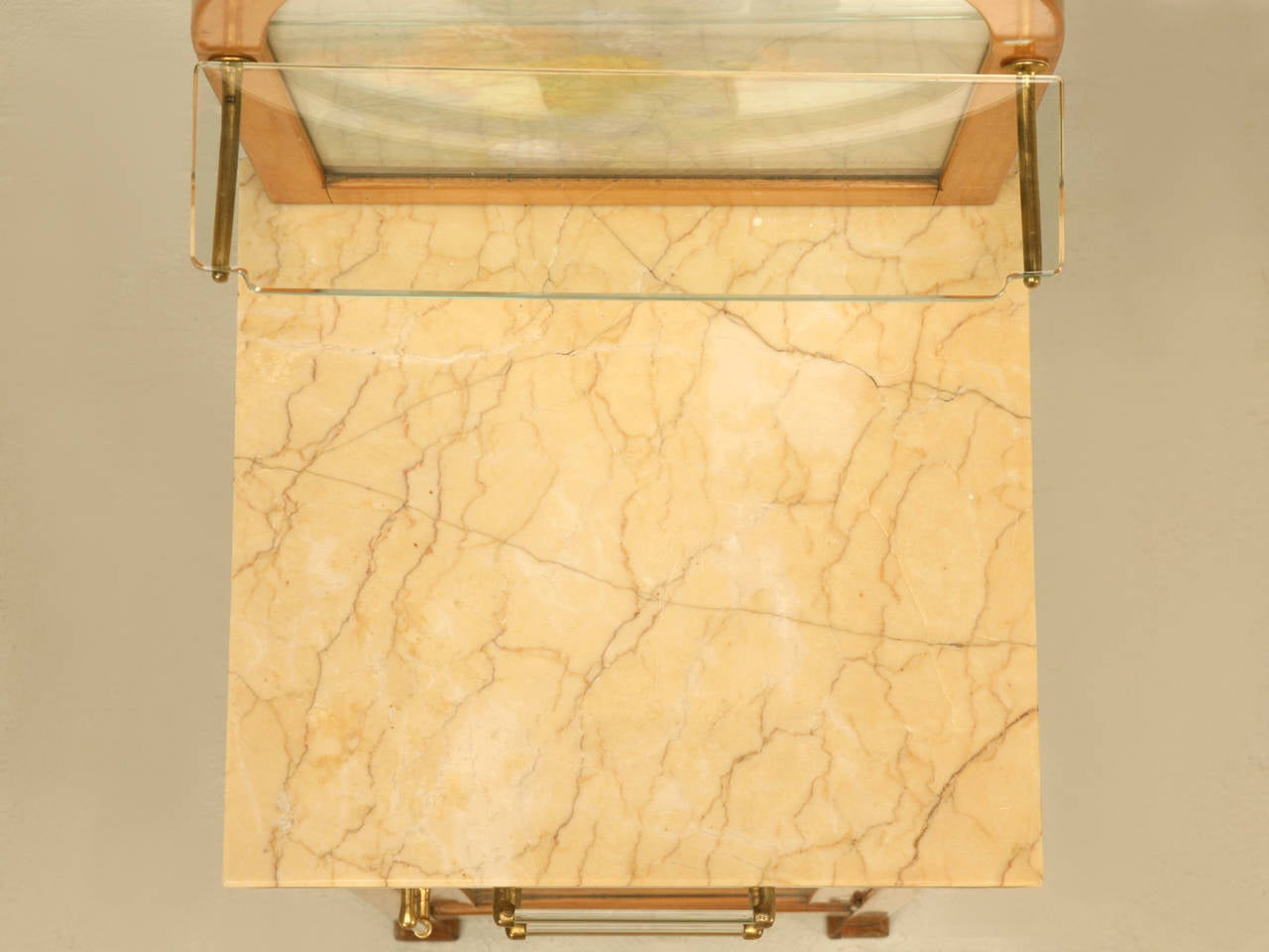 Spanish Bathroom, or Nightstand Cabinet with Paintings by Tolosa-Alsina For Sale 1