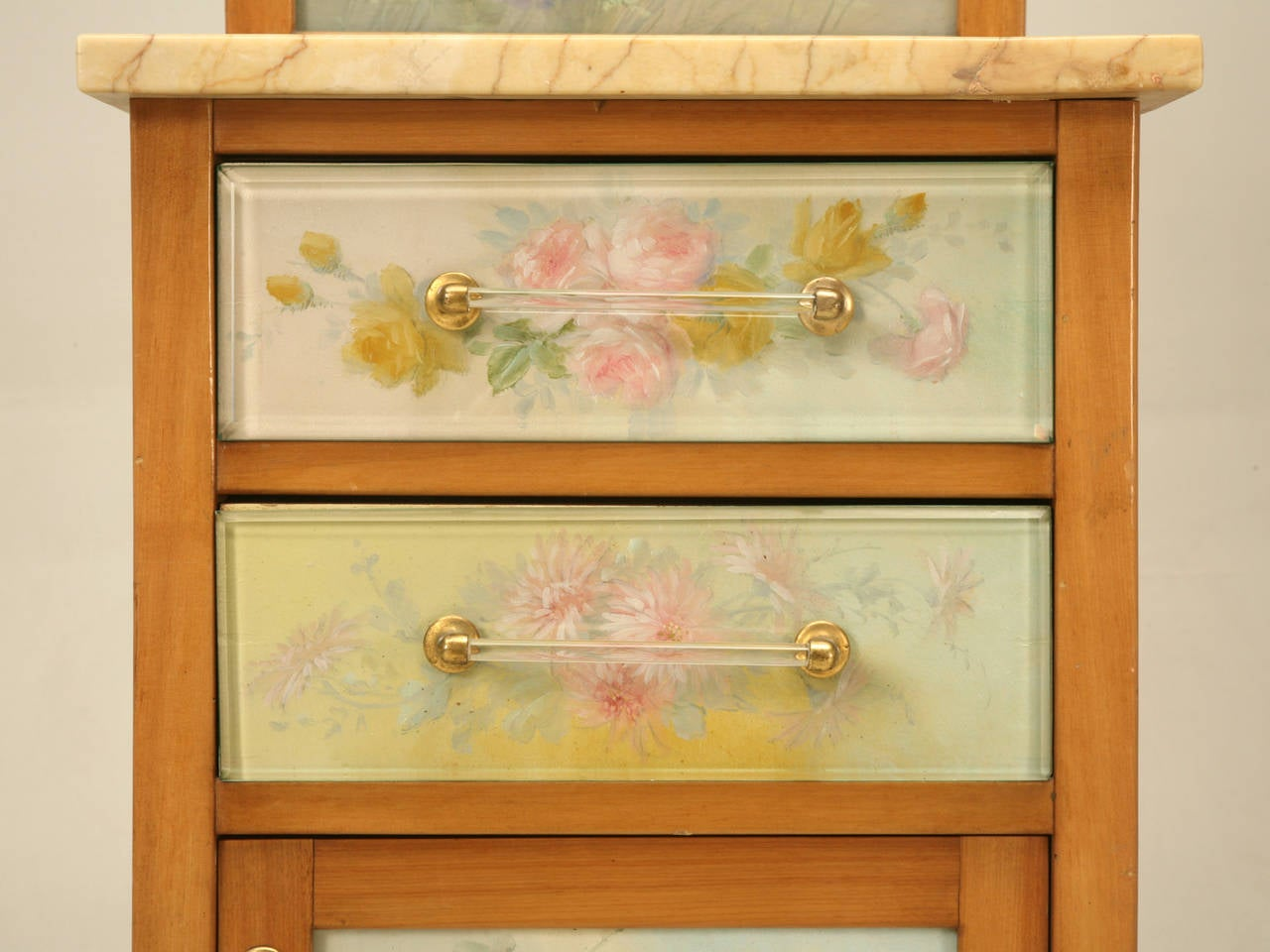 Spanish Bathroom, or Nightstand Cabinet with Paintings by Tolosa-Alsina For Sale 3