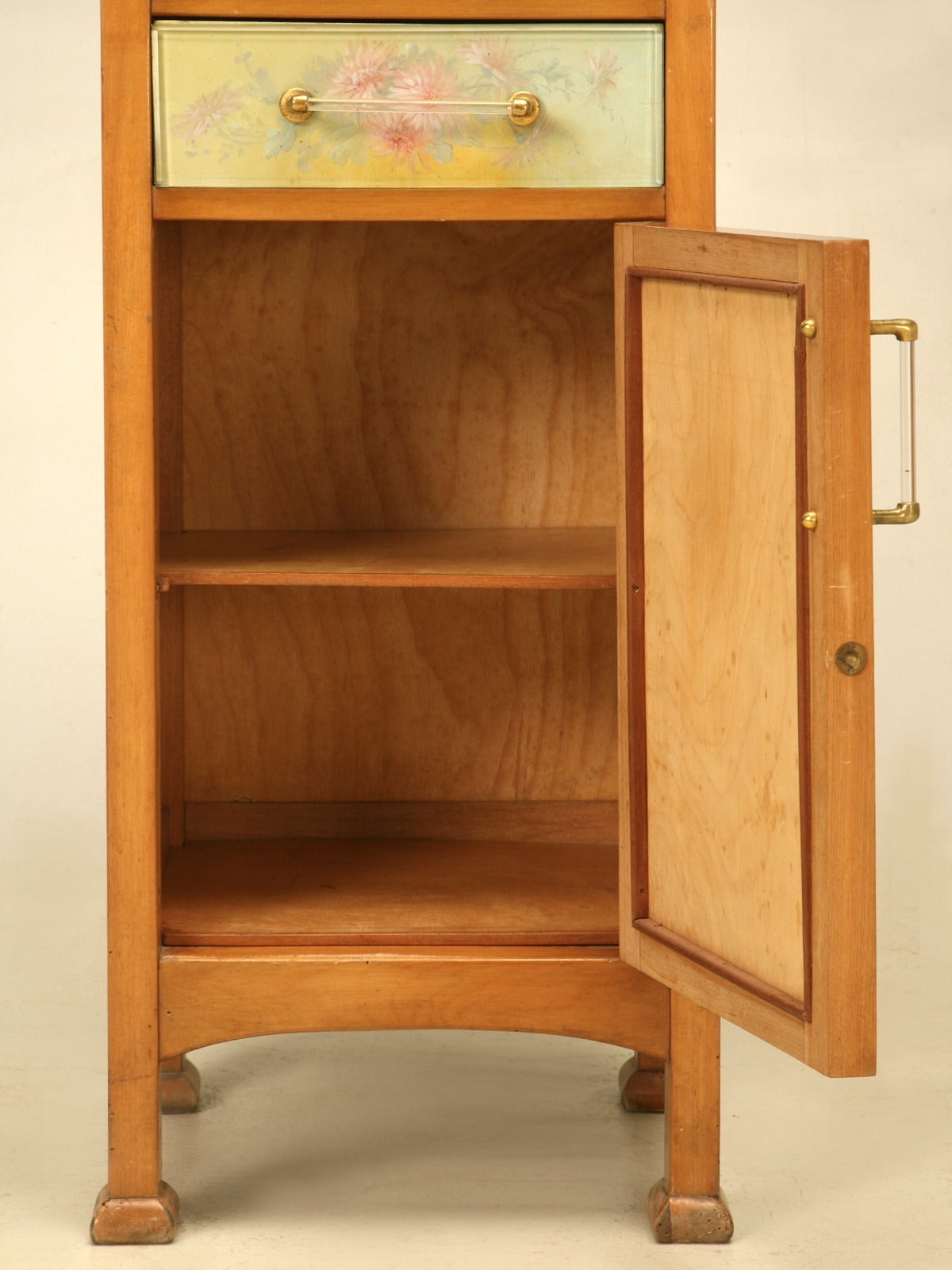 Spanish Bathroom, or Nightstand Cabinet with Paintings by Tolosa-Alsina For Sale 6