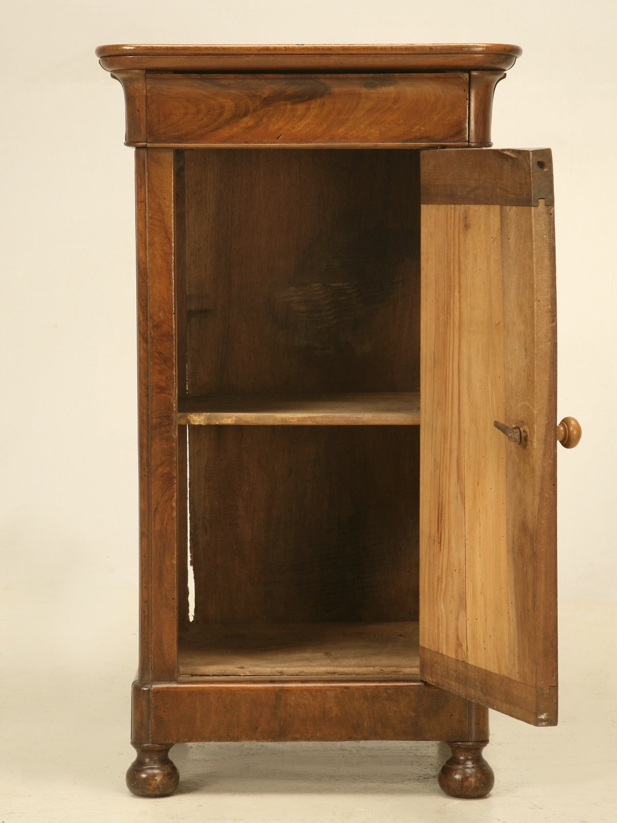 French Antique Louis Philippe Style Nightstand At 1stdibs