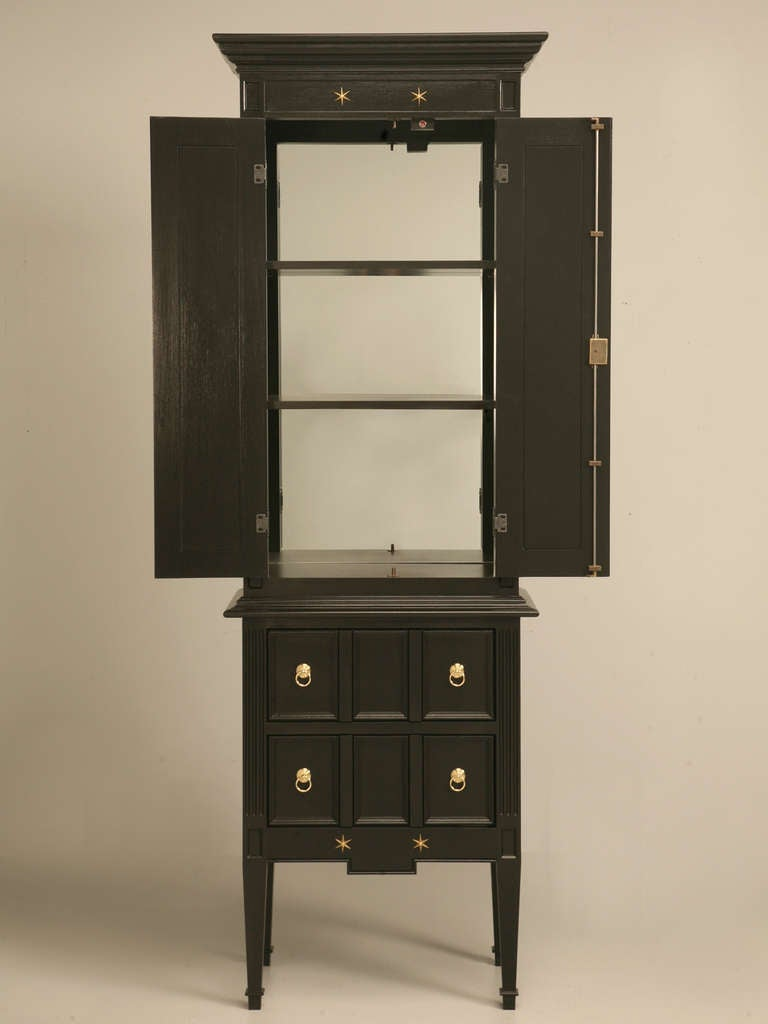 Jacques Adnet Inspired Dry Bar For Sale 3