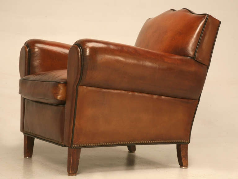 Fully Restored 1930u0027s French Club Chair W/Moustache Back U0026 New Everything  For Sale 4