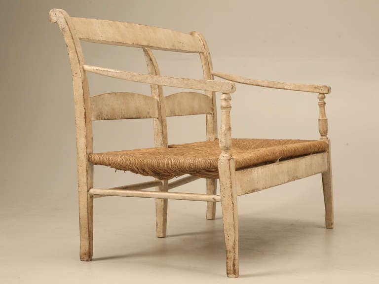 Rustic 48 Antique Settee The Quintessential Epitome Of Country French