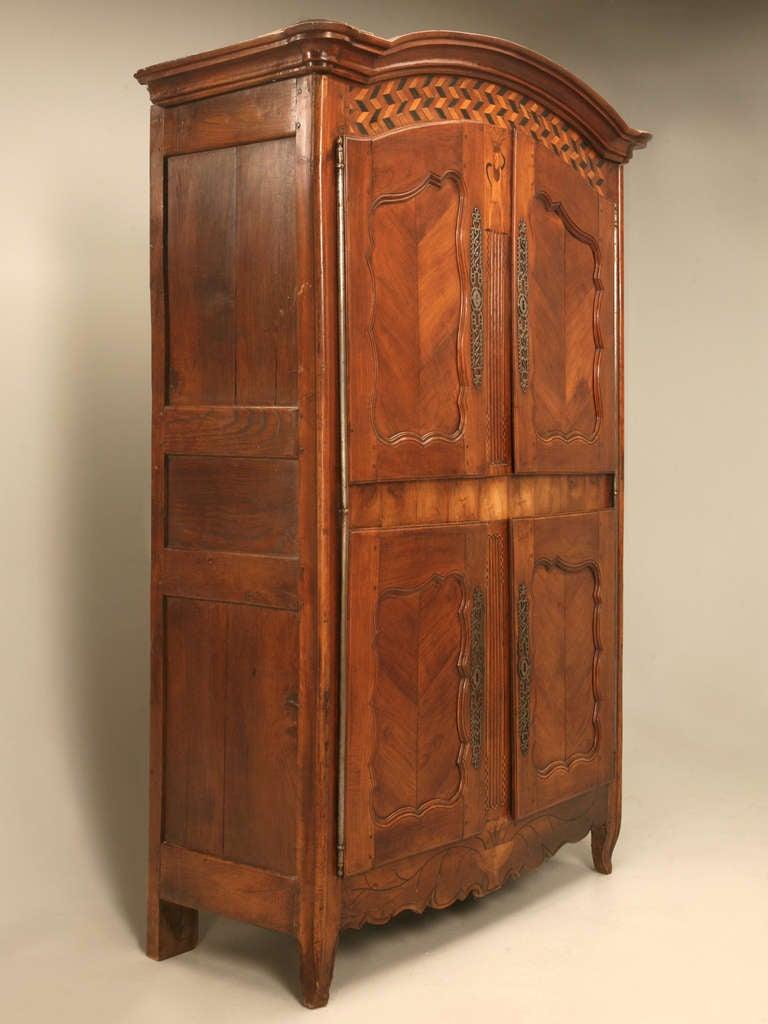 elegant french armoire for your home design 2018. Black Bedroom Furniture Sets. Home Design Ideas