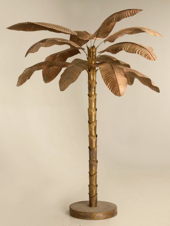 Vintage French Banana Leaf Palm Tree At 1stdibs
