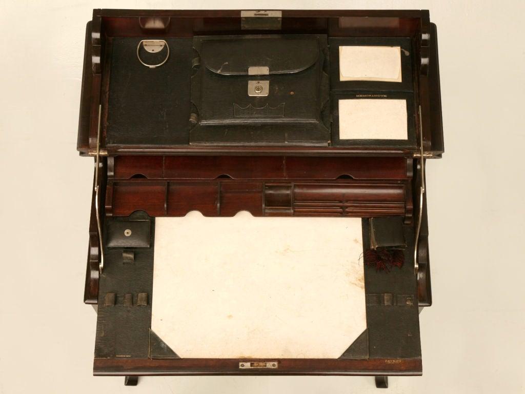 antique campaign desk