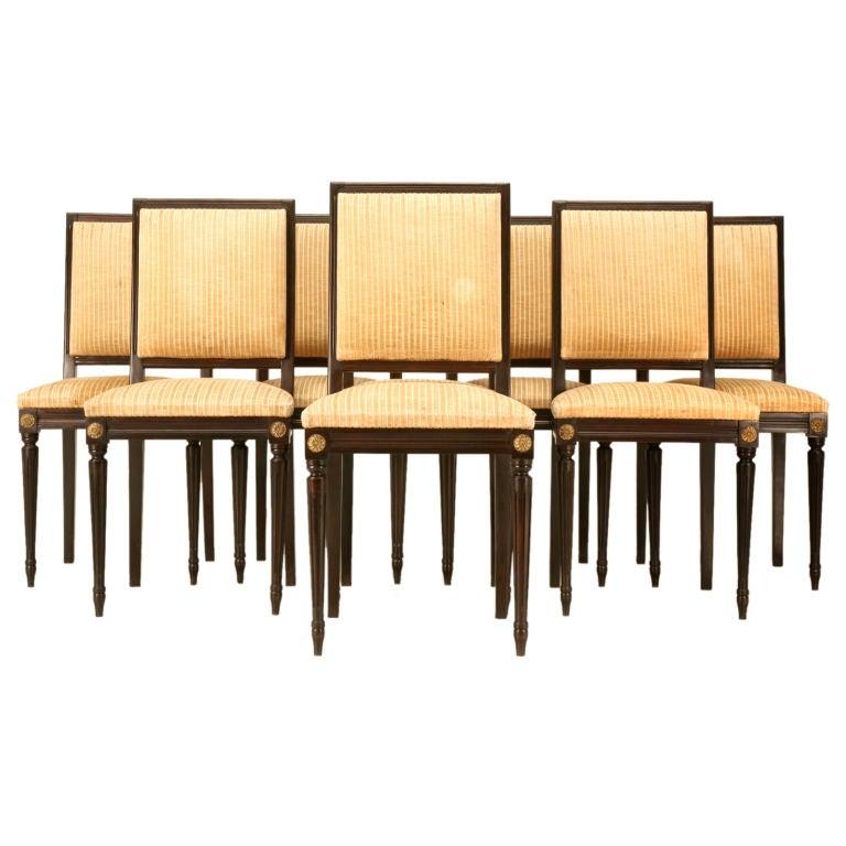 John Widdicomb Furniture Images French 7pc