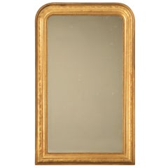 Original Antique French Louis Philippe Gilt Mirror, 1stdibs New York