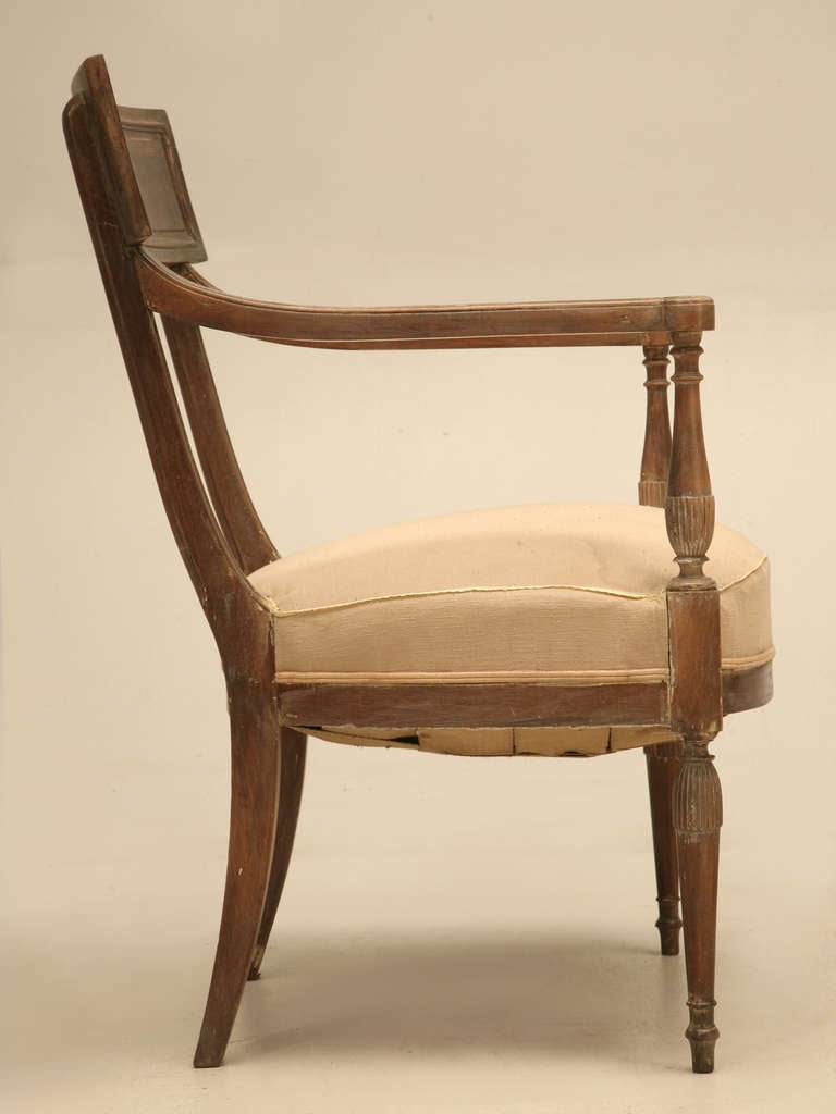 French Directoire Style Armchairs For Sale at 1stdibs