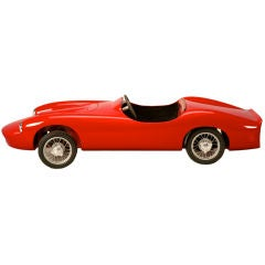 Ferrari Electric Child's Car by Letizia of Italy