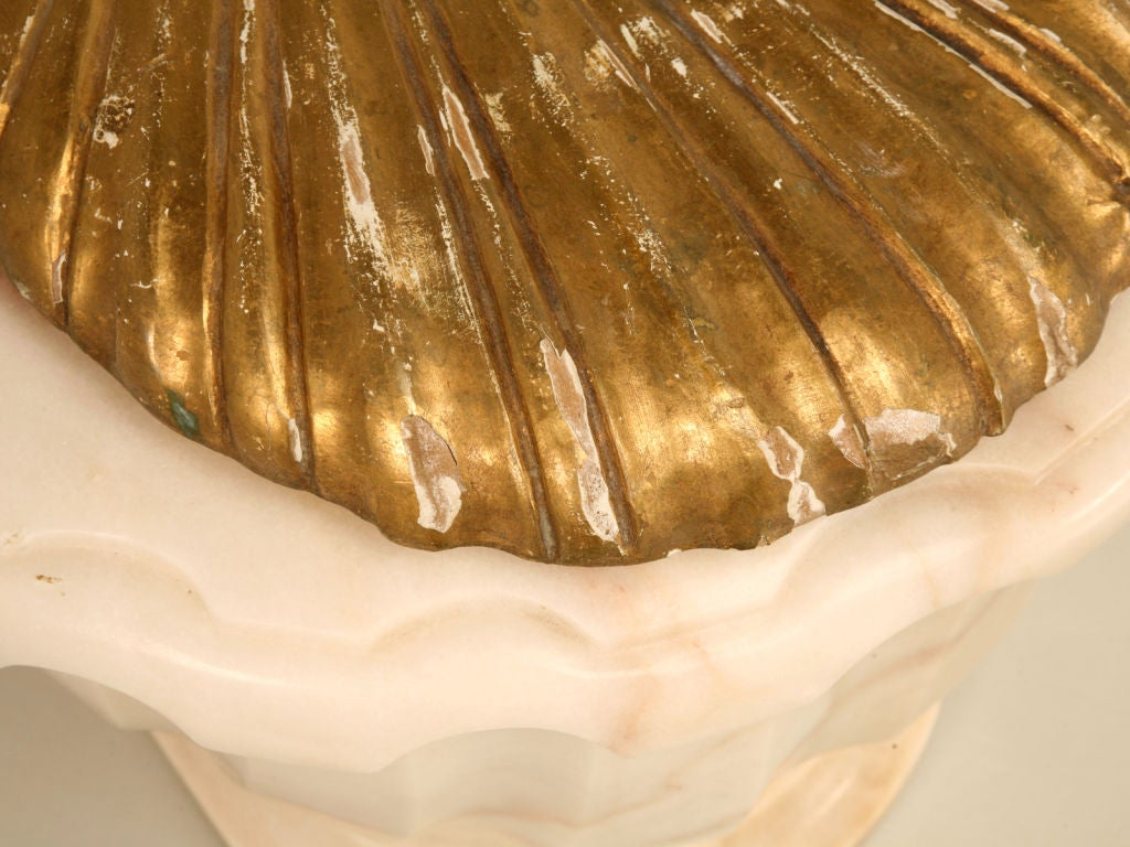 Vintage Sherle Wagner Luxury Carved Marble Toilet Cover (1 of 3) 3