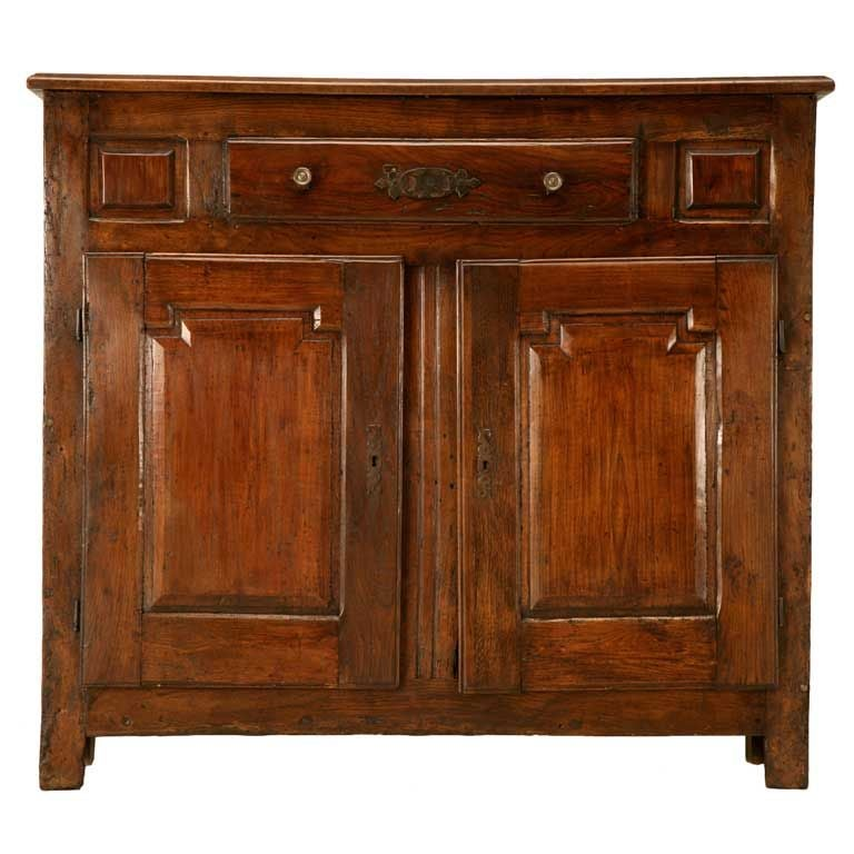 Early 18th Century French Figured Cherry One Over Two Buffet