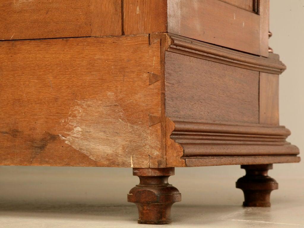 original antique walnut henri ii four door bibliotheque at 1stdibs