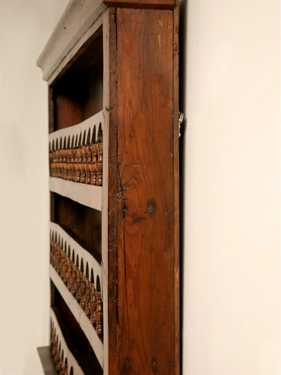 Antique French Hanging Wall / Plate Rack circa 1800 For Sale 4 & Antique French Hanging Wall / Plate Rack circa 1800 at 1stdibs