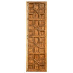 Antique Indonesian Hardwood 4 Panel Door/Table Top/Or ?