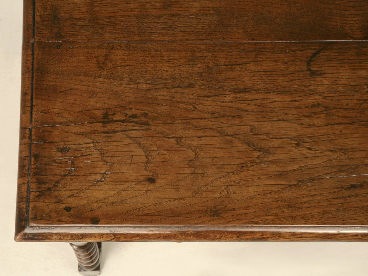 18th Century English Country Style Writing Desk or End Table, circa 1700s For Sale
