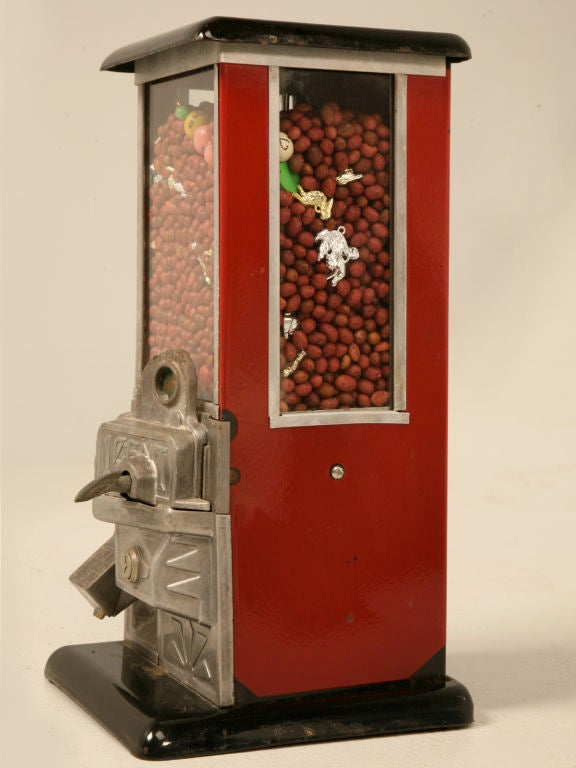 Vintage Quot Master Quot 1 Cent Gumball Or Candy Vending Machine