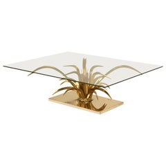 Attributed to Christian Techqueyres for Masion Jansen Doré Bronze Coffee Table