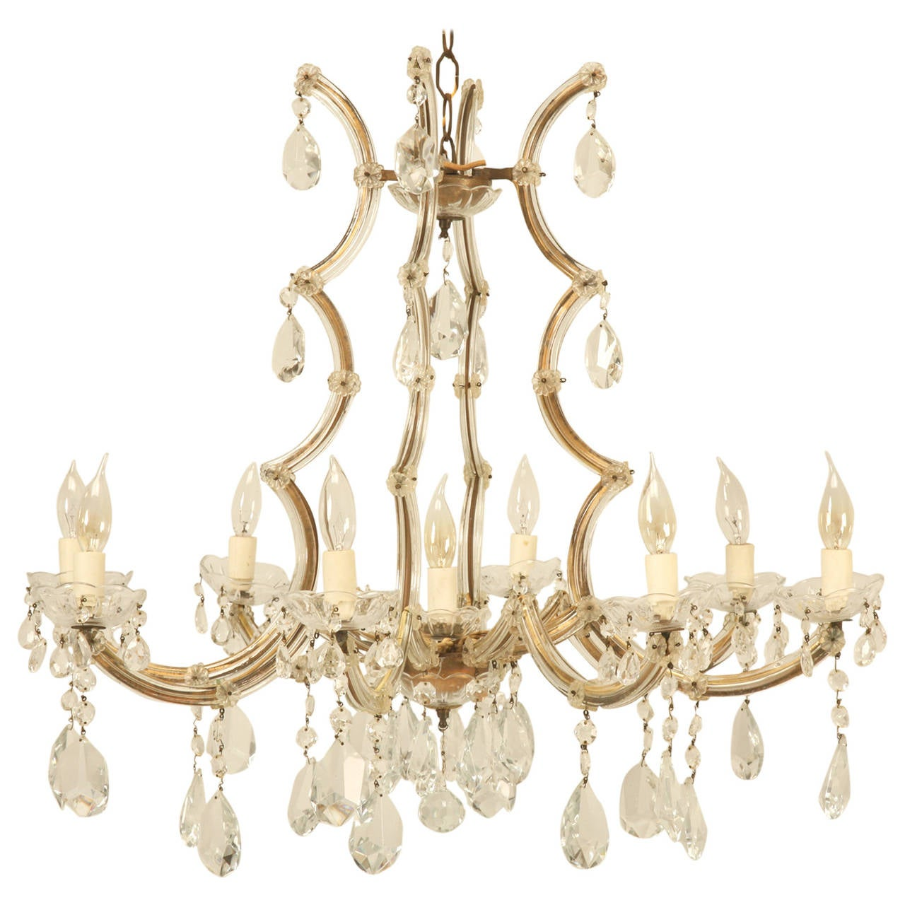 Spanish chandelier in a baroque style circa 1930s for sale at 1stdibs spanish chandelier in a baroque style circa 1930s for sale mozeypictures Gallery