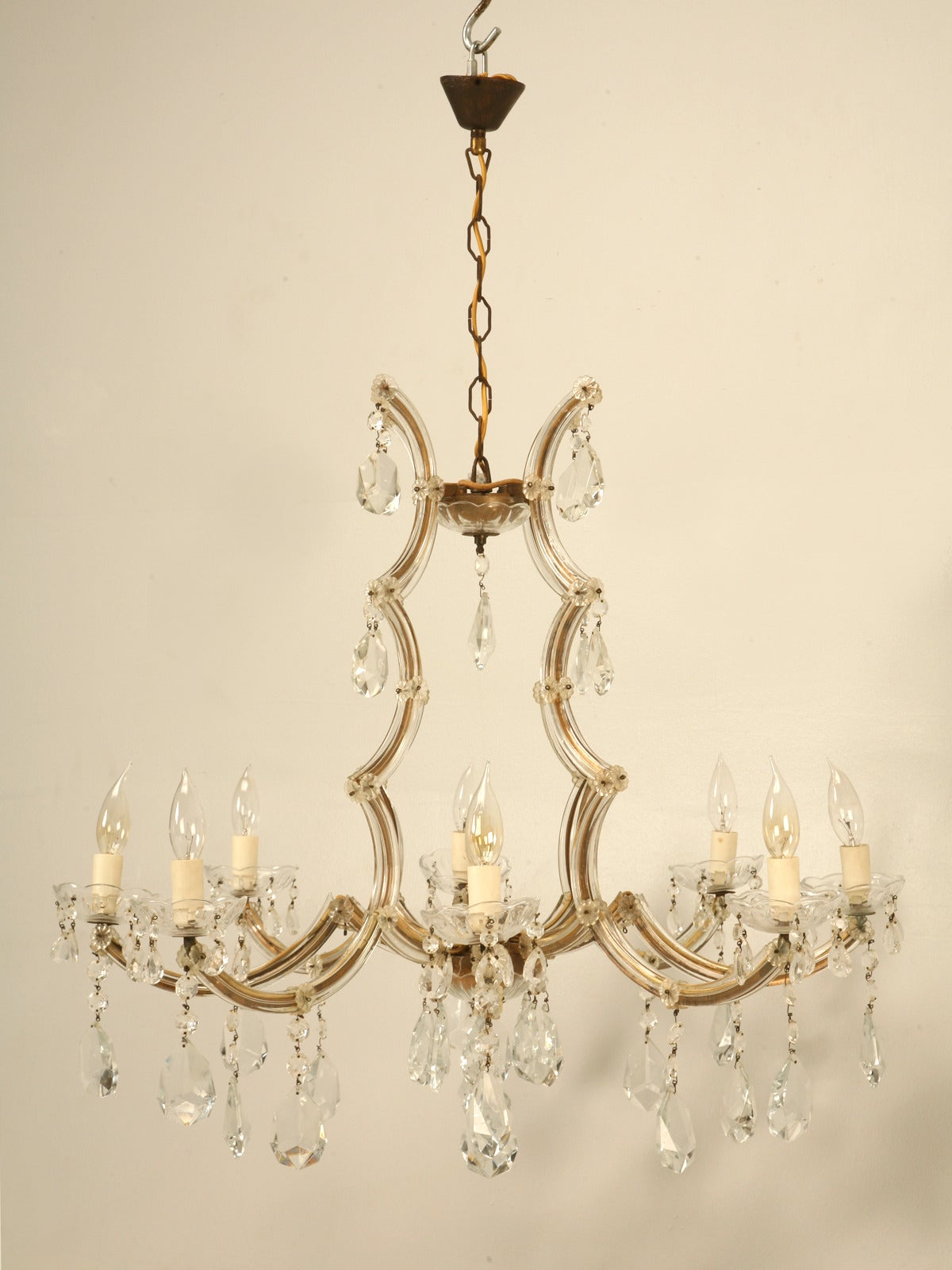 Spanish Chandelier in a Baroque Style circa 1930s For Sale at 1stdibs
