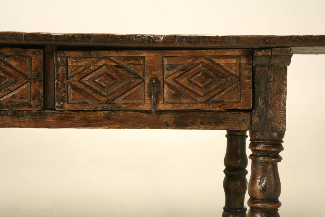 Antique Spanish Colonial Table At 1stdibs