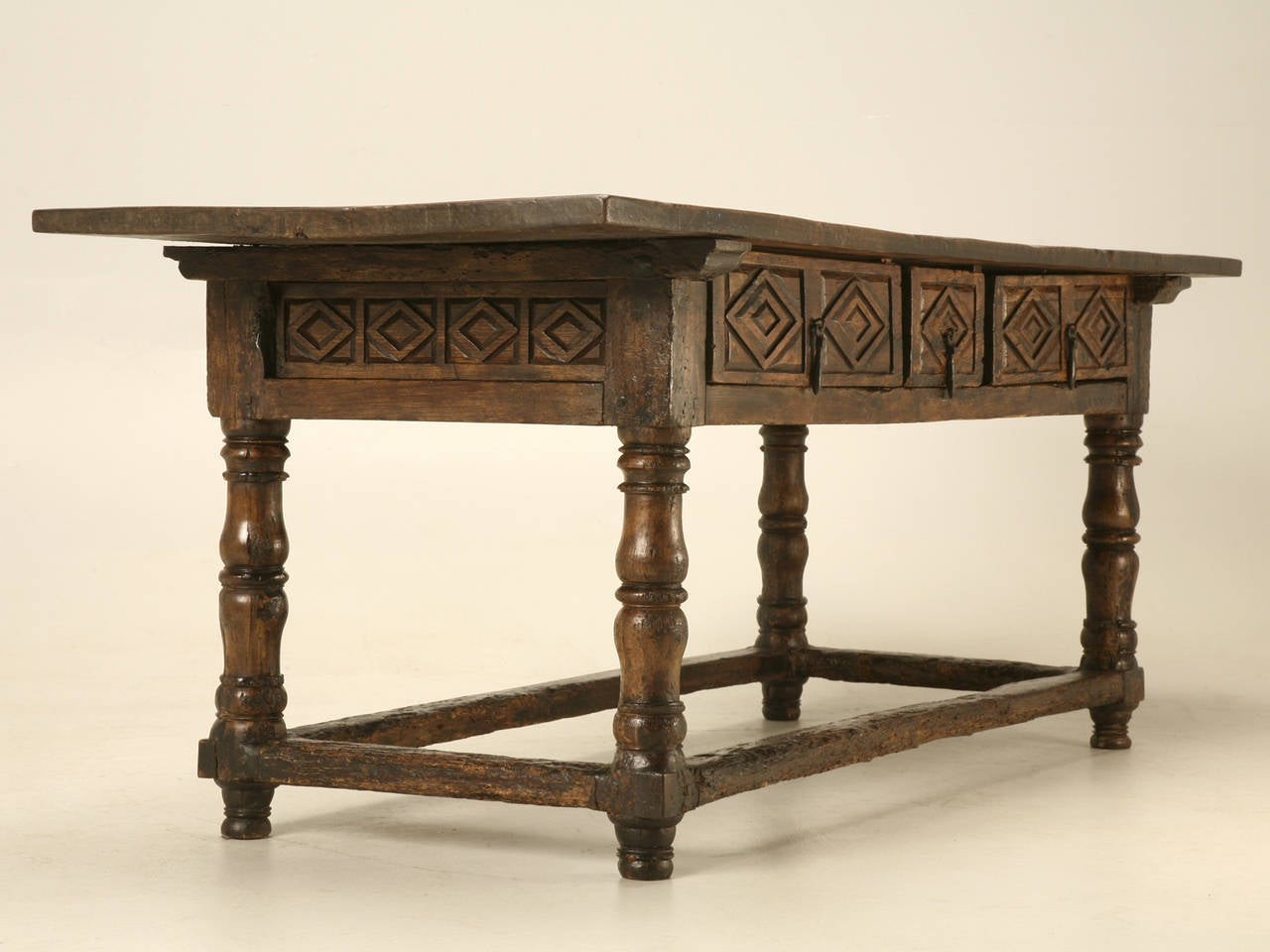 Antique spanish colonial table for sale at 1stdibs - Archives departementales 33 tables decennales ...