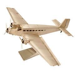 """Vintage """"Junkers Ju 52"""" Desk Top Model Airplane"""