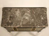 Phenomenal Petite Ebonized French Louis XVI 4 Drawer Commode thumbnail 3