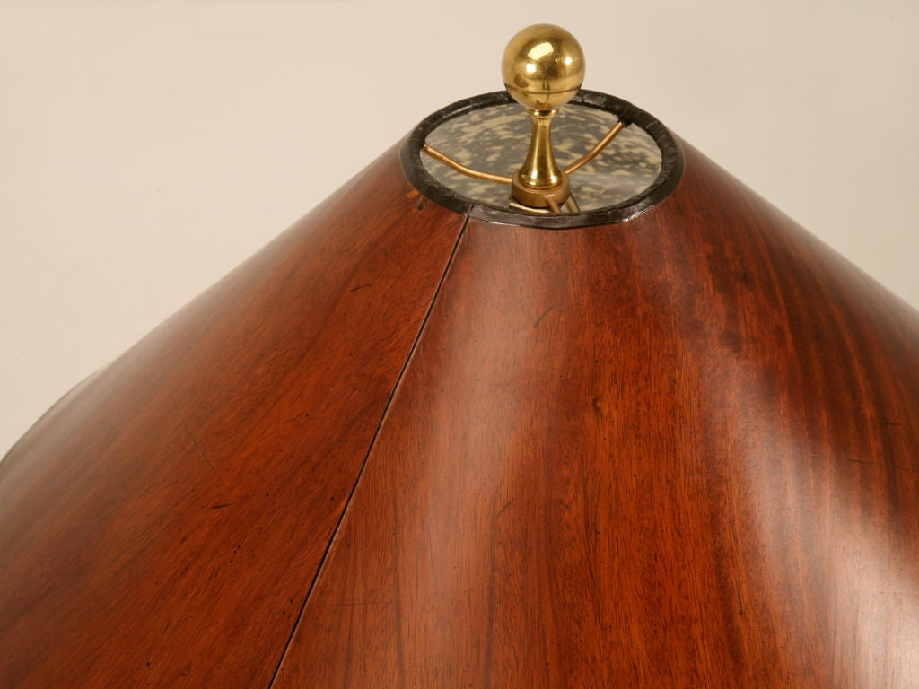 Pair Of Vintage Maitland Smith Neoclassical Lamps W Wood