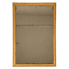 Breathtaking Original Antique French Gold-Leafed Sugar Mirror