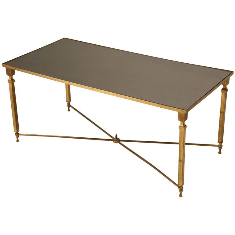 Modern French Coffee Table: French Mid-Century Modern Coffee Table, Circa 1940s For
