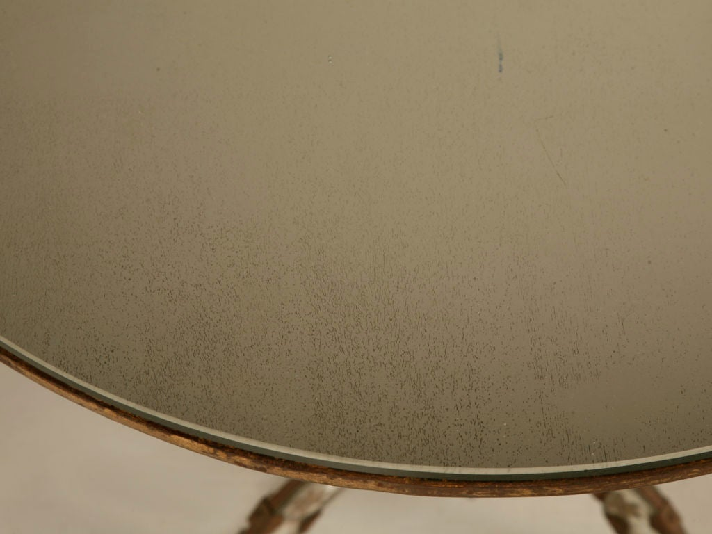 Exquisite Petite Vintage French Eglomise End, Side, Coffee Table 3
