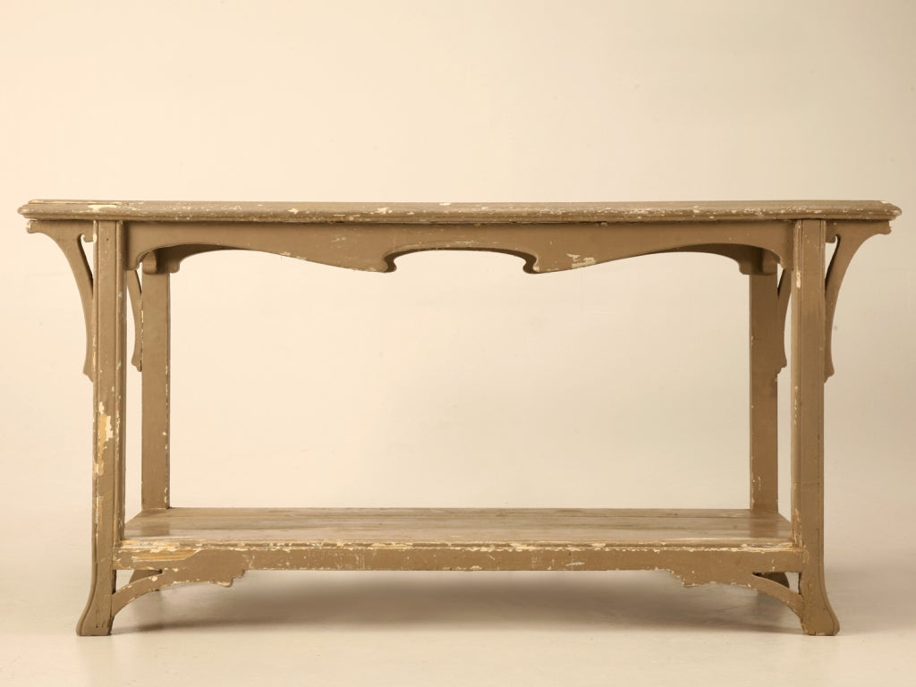 original antique french art nouveau console work or sofa table at 1stdibs. Black Bedroom Furniture Sets. Home Design Ideas