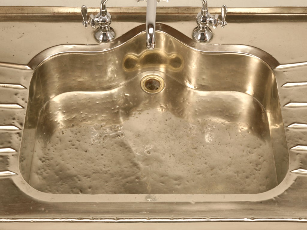 Stellar antique german silver sink w faucet and for German kitchen sinks