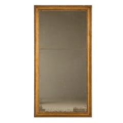 Spectacular Restored Antique French Gilt Framed & Sugared Mirror