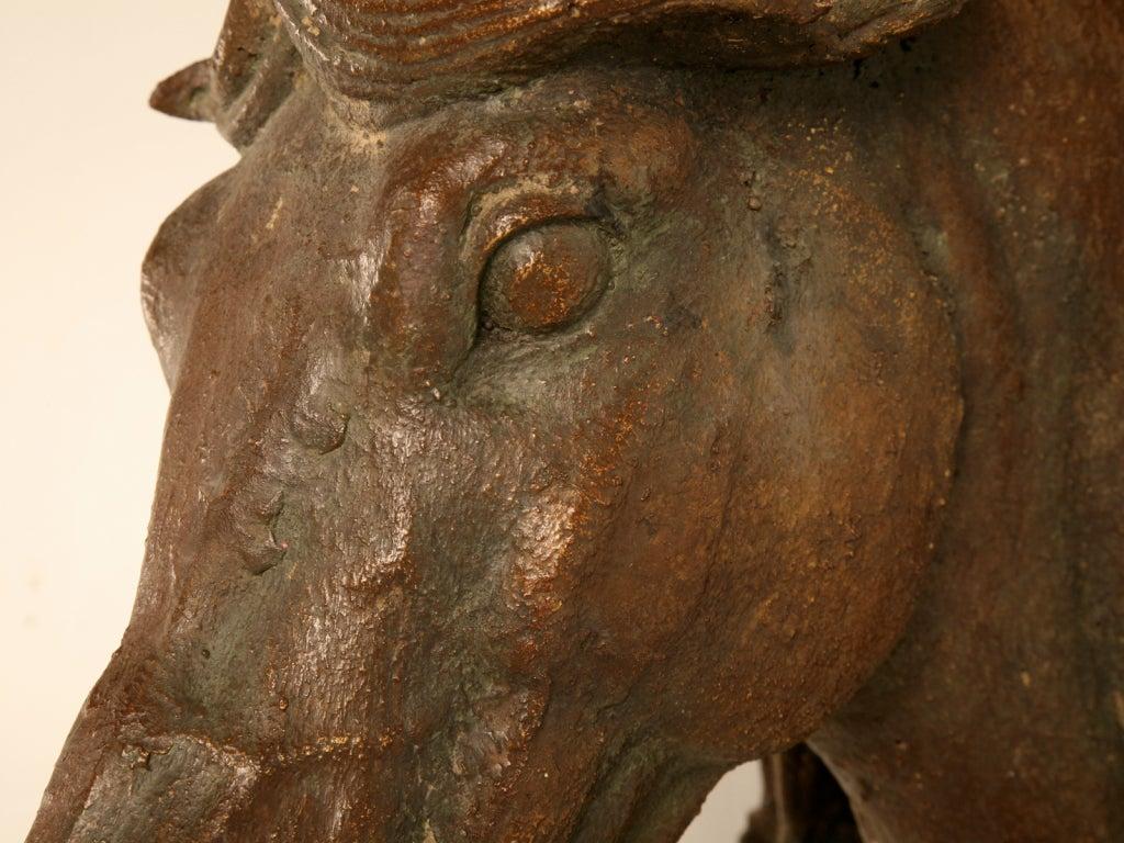 Exquisite Casting Of An Original Antique French Horse