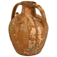 Antique French Pottery Water Jug, circa 1800s
