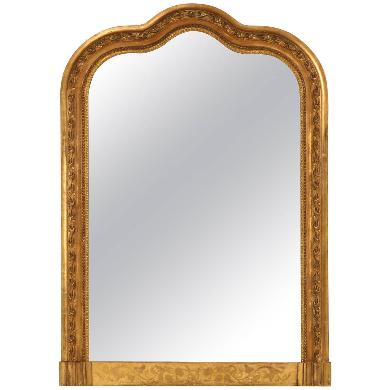 Antique french gilded mirror circa 1800s for sale at 1stdibs for French mirror
