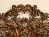 Exquisite Antq. Italian Carved & Gilded Organic Relief/Headboard thumbnail 2