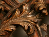 Exquisite Antq. Italian Carved & Gilded Organic Relief/Headboard thumbnail 5