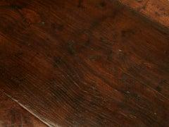Extraordinary Antique French Chestnut & Walnut Trestle Table image 4