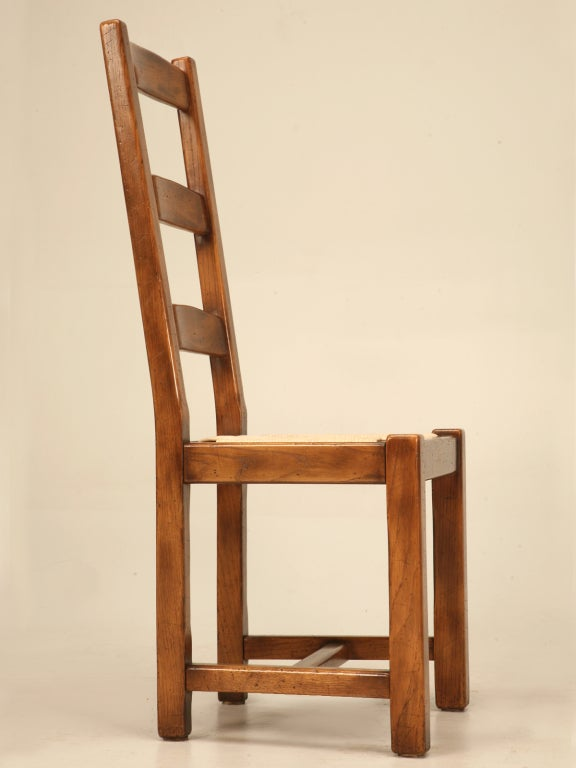 28 french country ladder back dining chairs