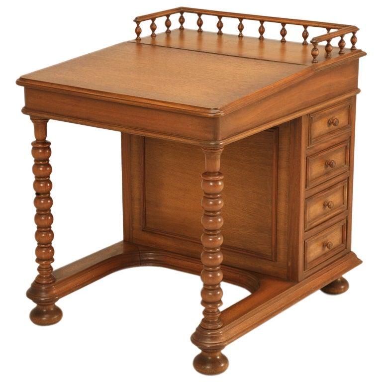 Dynamite vintage colonial american davenport style desk at - Sofas de estilo ingles ...