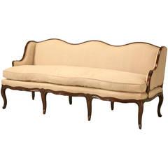 Louis XV Style French Walnut Sofa