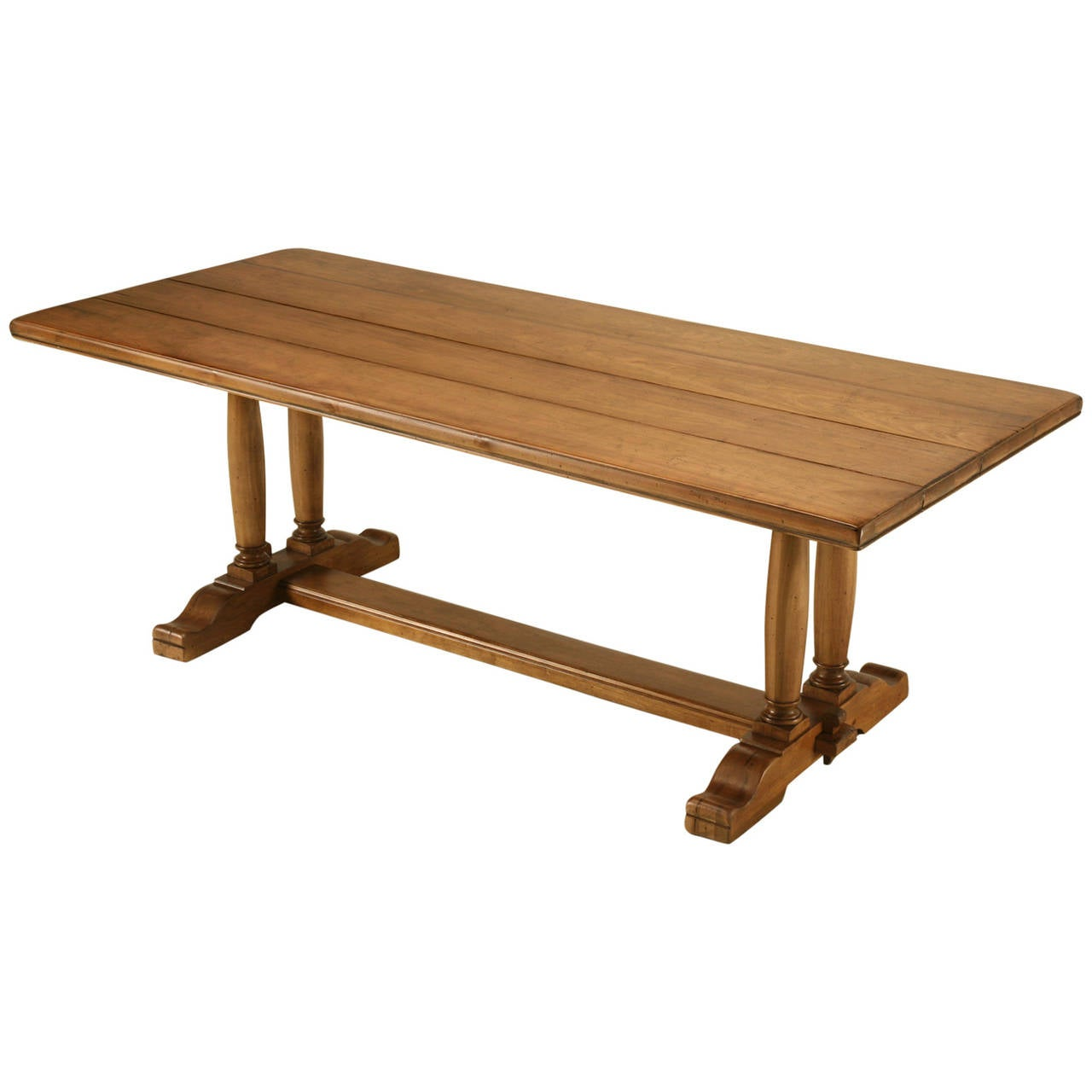 Trestle dining table at 1stdibs Trestle dining table