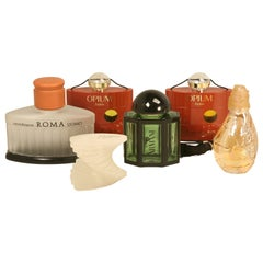 Collection of Large Vintage Perfume Retail Store Display Bottles